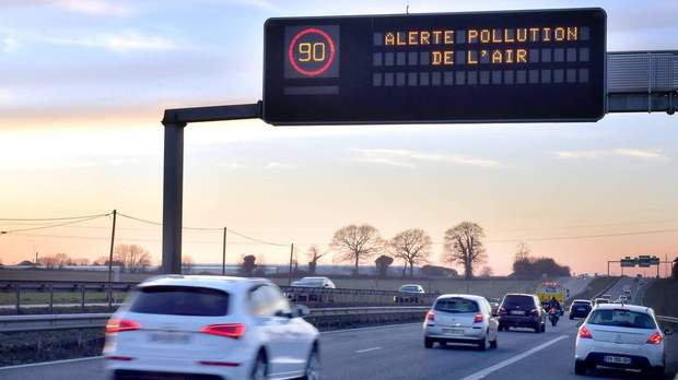 Pollution de l'air: nos villes suffoquent!